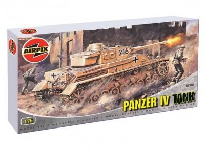Kit constructie si pictura Tanc Panzer IV
