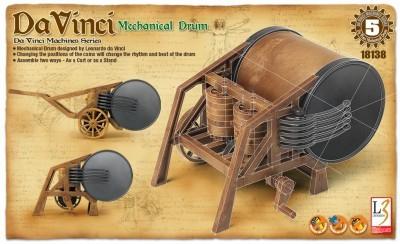 Kit constructie Toba mecanica functionala DaVinci