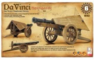 Kit constructie Tun functional Spingarde DaVinci