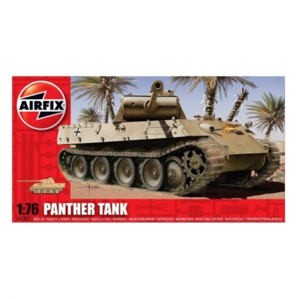 Kit modelism Airfix 01302 Tanc Panther Tank Scara 1:76