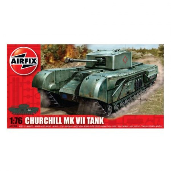 Kit modelism Airfix 01304 Tanc Churchill MkVII Scara 1:76