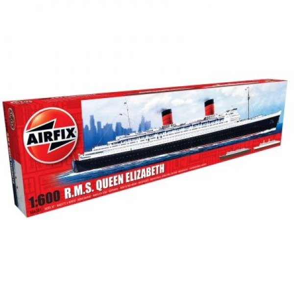 Kit navomodele Airfix 06201 RMS Queen Elizabeth scara 1:600
