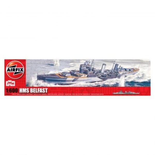 Kit navomodele Airfix 4212 Nava HMS Belfast Scara 1:600