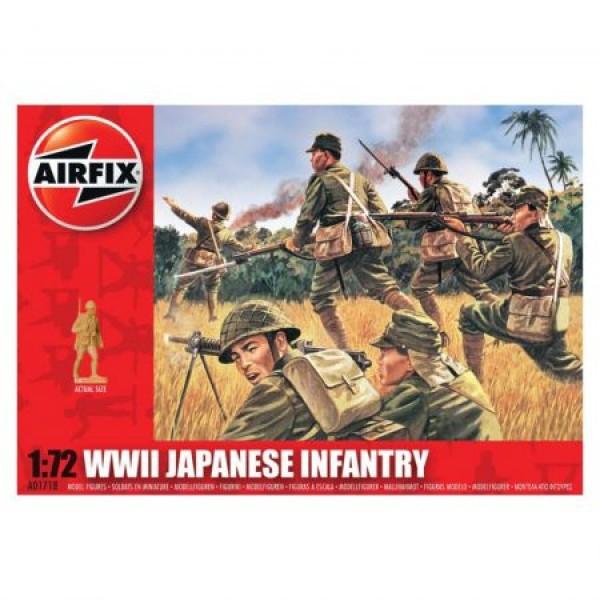 Kit soldati Airfix 01728 Set 48 soldati WWII Infanterie Japoneza scara 1:72 0
