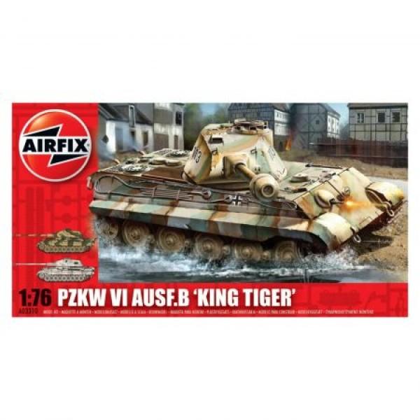 Kit tanc Airfix 3310 Tanc Pzkw VI Ausf B King Tiger Tank Scara 1:76