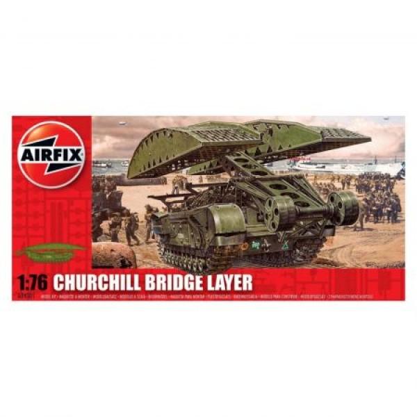 Kit tanc Airfix 4301 Tanc Churchill Bridge Layer Scara 1:76
