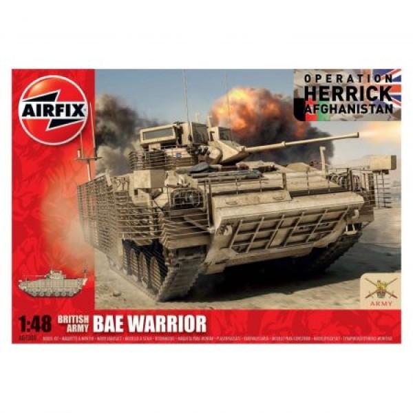 Kit tanc Airfix 7300 Tanc BAE Warrior Scara 1:48