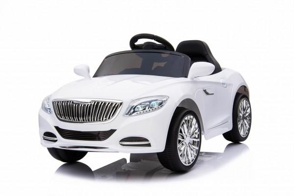 Masinuta electrica pentru copii Moderny Coupe alba 2x6V control parental din telecomanda