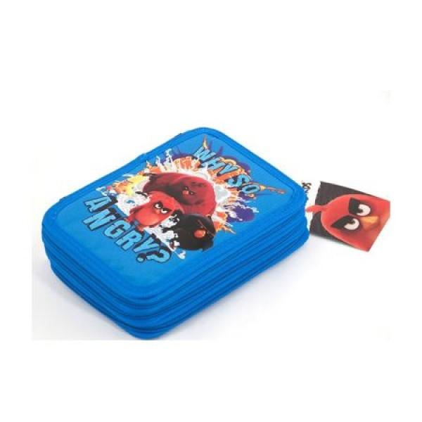 Penar Neechipat 3 fermoare Angry Birds Negru cu Albastru Pigna