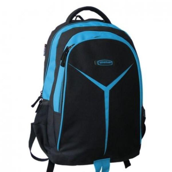 Rucsac Adventurer scolar negru cu albastru