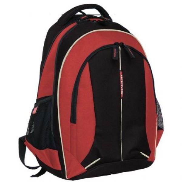 Rucsac scolar Adventurer rosu 5389