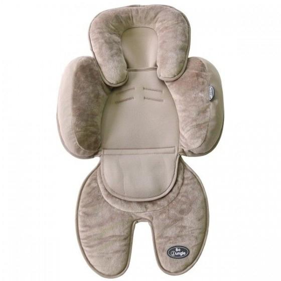 Saltea suplimentara Bej bebelusi BO Jungle 3 in 1 pentru carucior sau scaun auto sau scoica