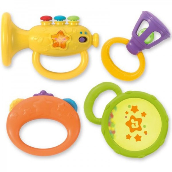 Set 4 zornaitori bebelusi Winfun Instrumente muzicale 0
