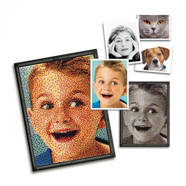 Set creativ pentru copii Pixel Photo 9 Quercetti 0