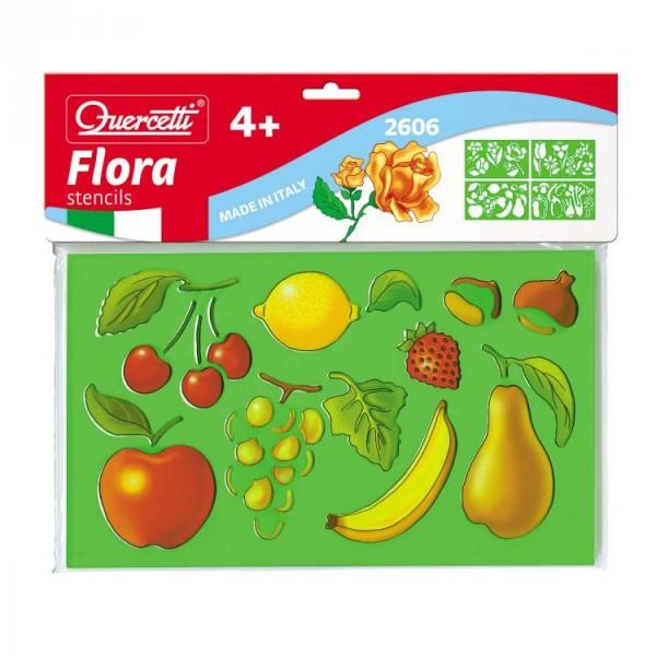 Set creativ pentru copii Sabloane Flora Quercetti 0