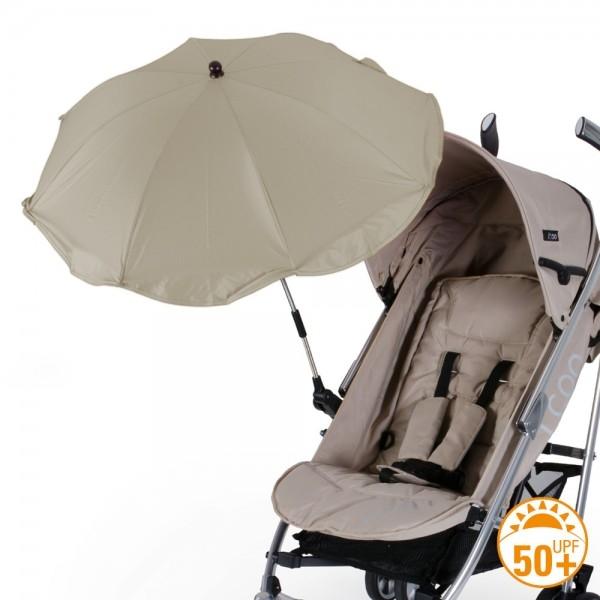 Umbrela pentru carucior copii Diago Bej 73 cm 0