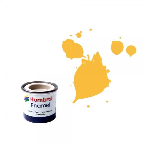 Vopsea modelilsm Humbrol 0268 Email Numar 24 Trainer Yellow Matt 14 ml