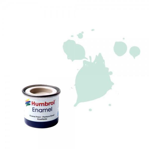 Vopsea modelism Humbol 0254 Email Numar 23 Duck Egg Blue Matt 14 ml
