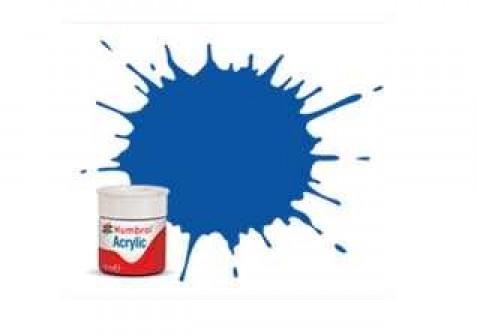 Vopsea modelism Humbrol 0014 Acrilic Numar 14 French Blue Gloss 12 ml 0