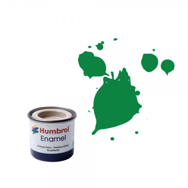 Vopsea modelism Humbrol 0028 Email Numar 2 Emerald Gloss  14 ml