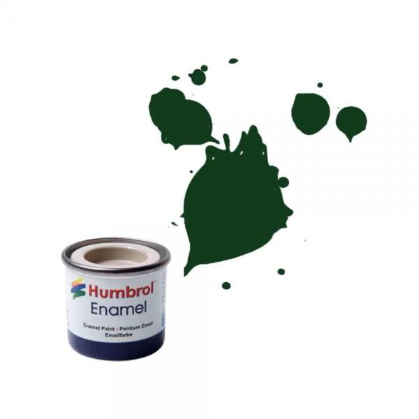 Vopsea modelism Humbrol 0031 Email Numar 3 Brunswick Green Gloss 14 ml 0