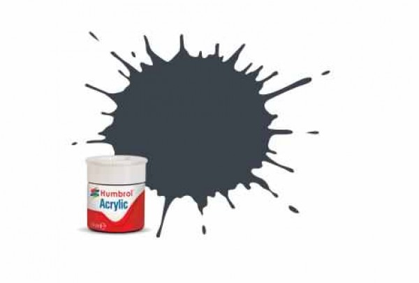 Vopsea modelism Humbrol 0032 Acrilic Numar 32 Dark Grey Matt 12 ml
