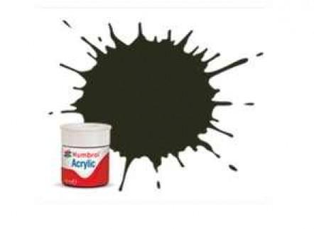 Vopsea modelism Humbrol 0053 Acrilic Numar 53 Gunmetal Metallic 12 ml