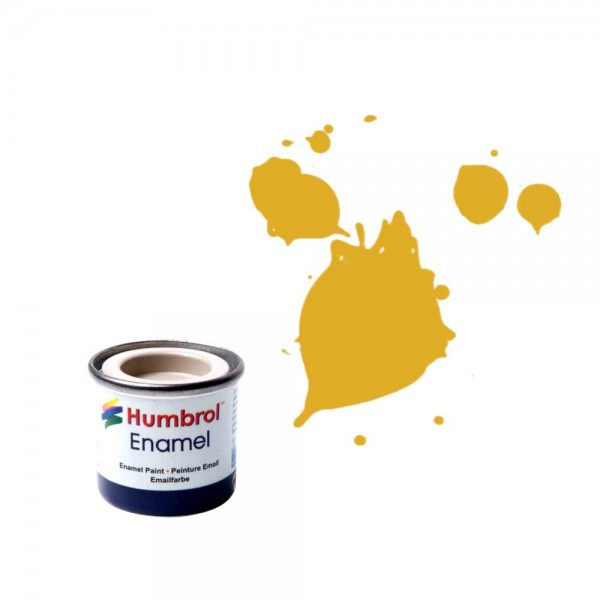 Vopsea modelism Humbrol 0179 Numar 16 Gold Metallic 14 ml