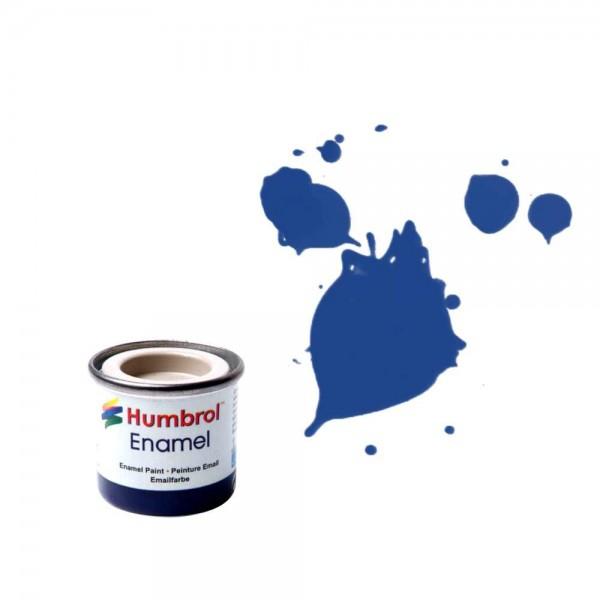 Vopsea modelism Humbrol 0271 Email Numar 25 Blue Matt 14 ml