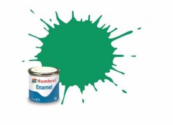 Vopsea modelism Humbrol 0549 Email Numar 50 Green Mist Metallic 14 ml 0