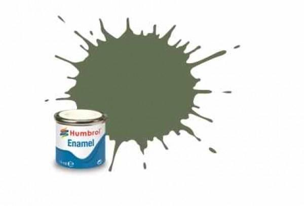 Vopsea modelism Humbrol 1122 Email Numar  102 Army Green Matt 14 ml