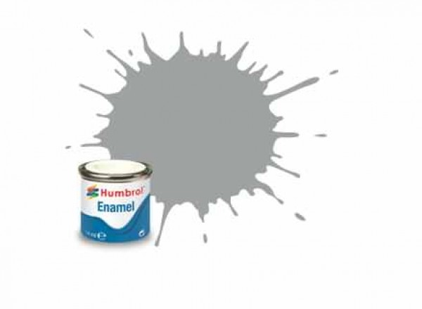 Vopsea modelism Humbrol 1420 Email Numar 129 US Gull Grey Satin 14 ml