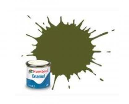 Vopsea modelism Humbrol 1612 Email Numar 149 Dark Green Matt 14 ml 0